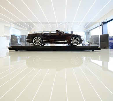 BENTLEY SHOWROOM